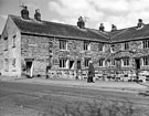 Nos. 1-6 (left to right), Hatfield Cottages, Hatfield House Lane at the junction of Sicey Avenue, Spring 1967
