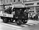 Brown Bayley's Ltd., Steam Lorry No. 6 Reg AW 2964, Lord Mayors Parade