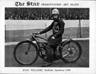 Stan Williams, Sheffield Speedway, 1939, Owlerton Stadium