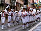 View: u00018 Women Morris Dancers, Lord Mayor's Parade, Church Street
