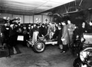 Interior of Walter Wragg Ltd., Motor Car, Motor Cycle, Agent Cycle Agent and Manufacturer