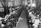 Filecutting machines at English Steel Corporation's Holme Lane works