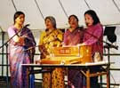 Asian music at the Millennium Multicultural Festival held on Devonshire Green