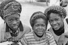 Group of children at Kelvin during Caribbean Cultural Fortnight