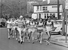 Sheffield United Harriers 15 Mile Road Race Walk passing The Gate Inn, No. 78 Penistone Road North