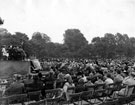 World War Two, Food Production Show, Endcliffe Park, opening ceremony