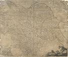 Map of the County of York, by John Tuke, land surveyor