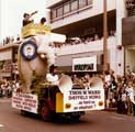 Thomas W. Ward float (Lizzie the elephant), Lord Mayor's Show on Waingate