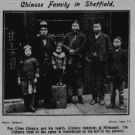 Chinese family in Sheffield - Pee Chan Ching-a and his family, Chinese residents in Millsands