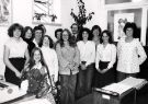 Administration and typing staff, Libraries Department, Central Library, Surrey Street